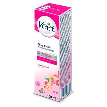 Veet Silky Fresh Krem do depilacji skóra normalna 100 ml