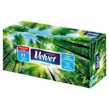 Velvet Dream Chusteczki uniwersalne 3 warstwy 90 sztuk