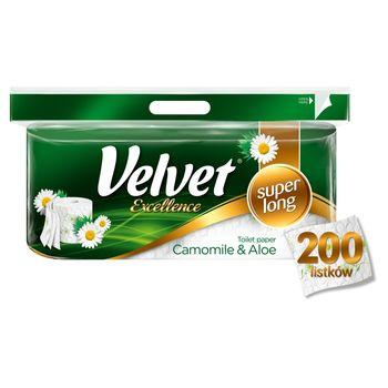 Velvet Excellence Camomile & Aloe Papier toaletowy 8 rolek
