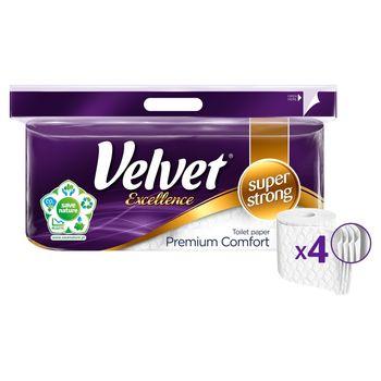 Velvet Excellence Premium Comfort Papier toaletowy 8 rolek