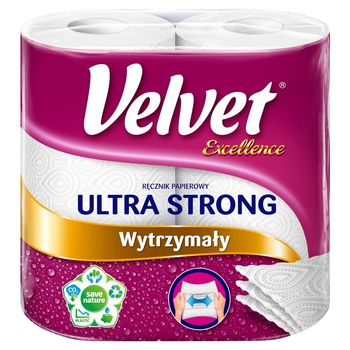 Velvet Excellence Ultra Strong Ręcznik papierowy 2 rolki