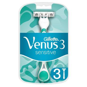 Venus 3 Sensitive Jednorazowe maszynki do golenia dla kobiet, 3 sztuk