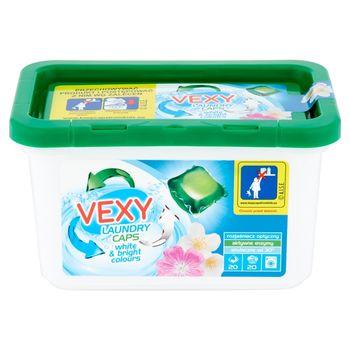 Vexy Kapsułki do prania do tkanin białych i jasnych 480 g (20 x 24 g)