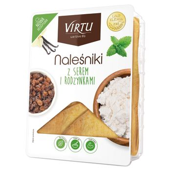 Virtu Naleśniki z serem i rodzynkami 400 g