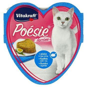 Vitakraft Poésie Omlet z flądrą Karma pełnoporcjowa dla kotów 85 g
