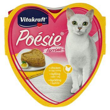 Vitakraft Poésie Omlet z kurczakiem Karma pełnoporcjowa dla kotów 85 g