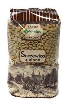 VitalPol Soczewica zielona 450 g