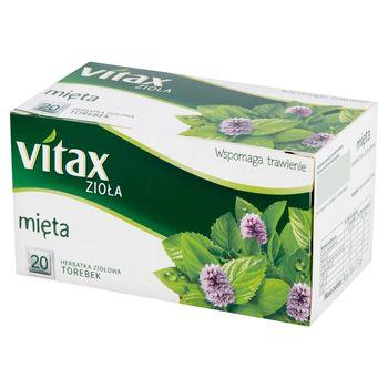 Vitax Zioła Herbatka ziołowa mięta 30 g (20 x 1,5 g)