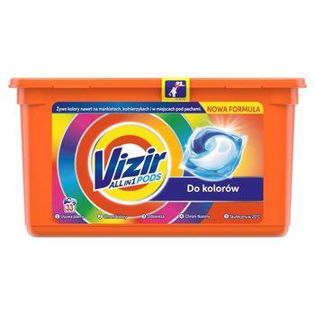 Vizir ALL in 1 Color Kapsułki do prania, 33prań
