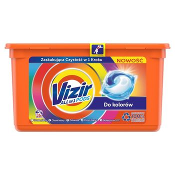 Vizir Allin1 Color Kapsułki do prania, 36prań