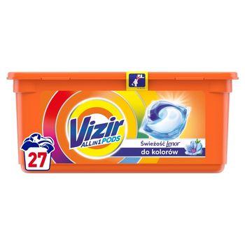 Vizir Allin1 Touch of Lenor Color Kapsułki do prania, 27prań
