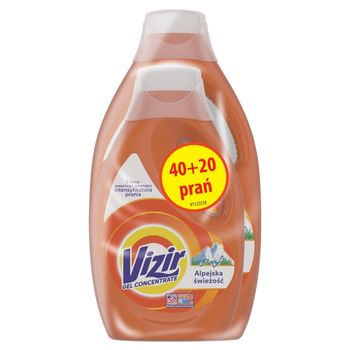Vizir Alpine Fresh Płyn do prania 3.3 l, 60 prań