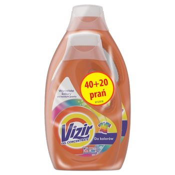 Vizir Color Płyn do prania do kolorów 1,1l + 2,2 l, 20 + 40prań
