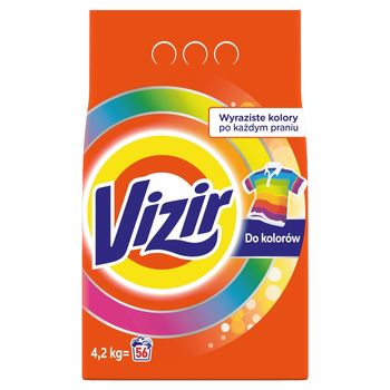 Vizir Color Proszek do prania kolorów 4.2KG, 56prań
