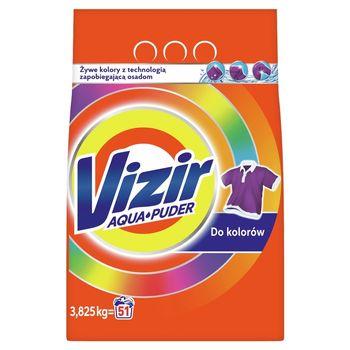 Vizir AquaPuder Color Proszek do prania 3.825KG, 51 prań