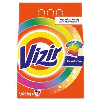 Vizir Proszek do prania kolorowych tkanin 3.825 kg, 51 prań