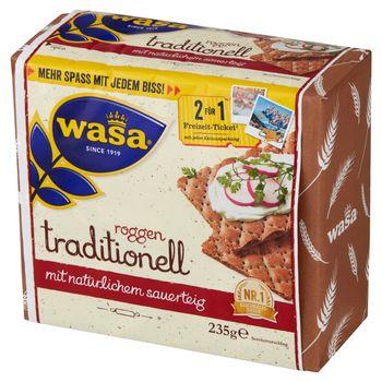 Wasa Pieczywo chrupkie żytnie na zakwasie 235 g