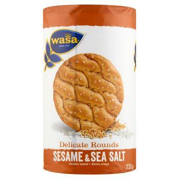 Wasa Produkt piekarniczy z mąki pszennej z sezamem i solą morską 235 g