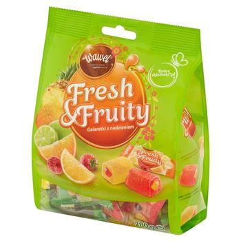 Wawel Fresh & Fruity Galaretki z nadzieniem 280 g