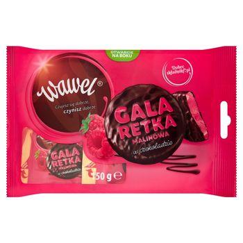 Wawel Galaretka malinowa w czekoladzie 150 g