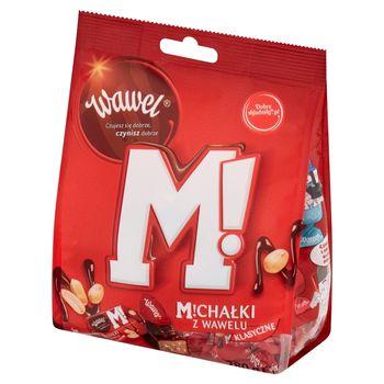 Wawel Michałki z Wawelu Klasyczne Cukierki w czekoladzie 280 g