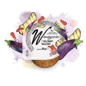 Wawrzyniec Pasta warzywna z grillowanym bakłażanem 80 g