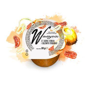 Wawrzyniec Pasta warzywna ze słodką cebulką i suszonymi pomidorami 80 g