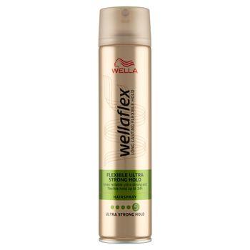 Wella Wellaflex Flexible Ultra Strong Hold Lakier do włosów 250 ml