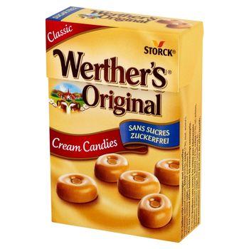 Werther's Original Cukierki śmietankowe bez cukru 42 g