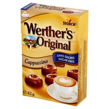 Werther's Original Cukierki śmietankowe bez cukru o smaku cappuccino 42 g