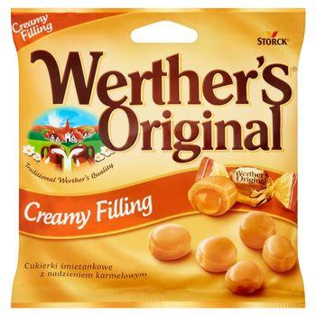 Werther's Original Cukierki śmietankowe z nadzieniem karmelowym 80 g