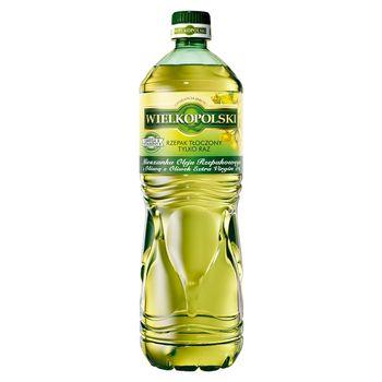Wielkopolski Mieszanka oleju rzepakowego z oliwą z oliwek extra virgin 5% 1 l