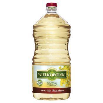 Wielkopolski Olej rzepakowy 100% 3 l