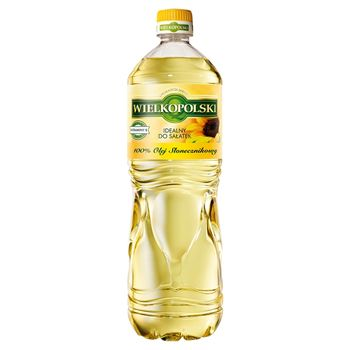 Wielkopolski Olej słonecznikowy 100% 1 l