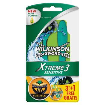 Wilkinson Sword Xtreme3 Sensitive Jednorazowe maszynki do golenia 4 sztuki