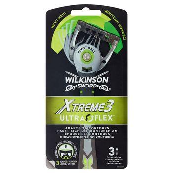 Wilkinson Sword Xtreme3 Ultra Flex Jednorazowe maszynki do golenia 3 sztuki