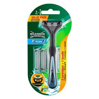 Wilkinson Sword Xtreme3 Wkłady do maszynki 5 sztuk + rączka