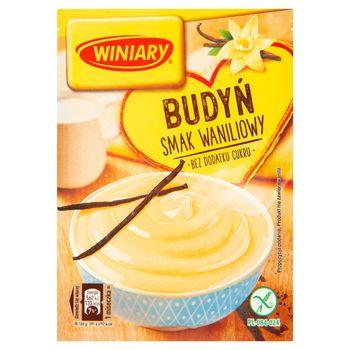 Winiary Budyń bez dodatku cukru smak waniliowy 35 g