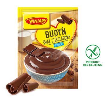 Winiary Budyń z cukrem smak czekoladowy 63 g