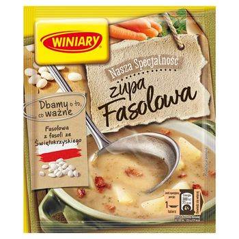 Winiary Nasza Specjalność Zupa fasolowa 63 g