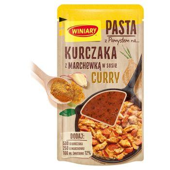 Winiary Pasta z pomysłem na... kurczaka z marchewką w sosie curry 80 g