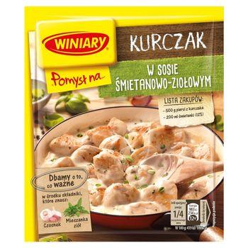 Winiary Pomysł na... Kurczak w sosie śmietanowo-ziołowym 30 g