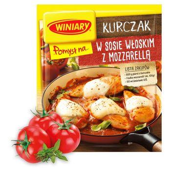 Winiary Pomysł na... Kurczak w sosie włoskim z mozzarellą 35 g