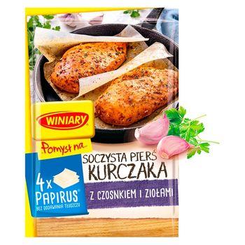 Winiary Pomysł na... Soczysta pierś kurczaka z czosnkiem i ziołami 23,7 g