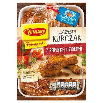 Winiary Pomysł na... Soczysty kurczak z papryką i ziołami 28 g