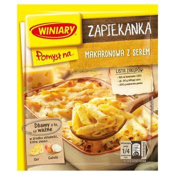 Winiary Pomysł na... Zapiekanka makaronowa z serem 47 g