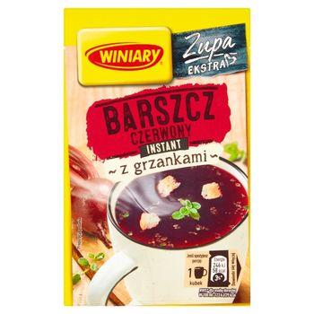 Winiary Zupa instant barszcz czerwony z grzankami 16 g