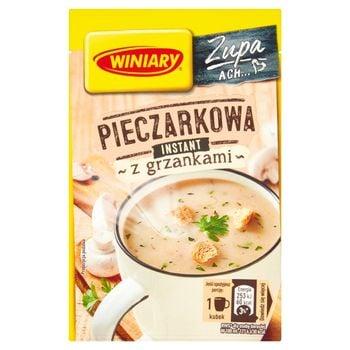 Winiary Zupa instant pieczarkowa z grzankami 14 g