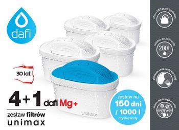 Filtry do Wody Dafi Unimax Standard + Mg+ 4+1, 5szt