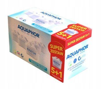 Filtry do wody Wkład Aquaphor Maxfor 6szt